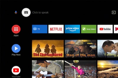 Personalise your TV with apps