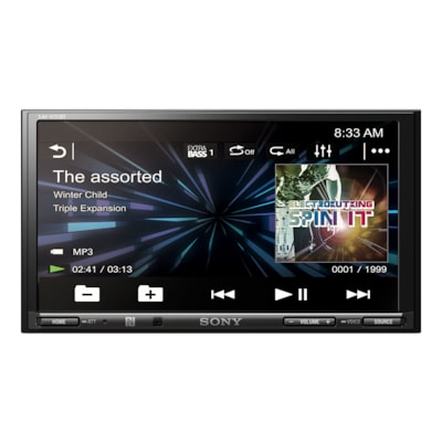 "Picture of 17.6cm (6.95"") LCD AV Receiver"