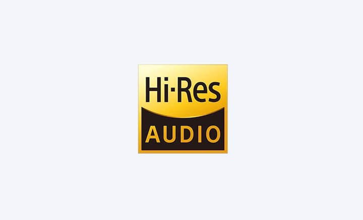 Hi-Res Audio icon