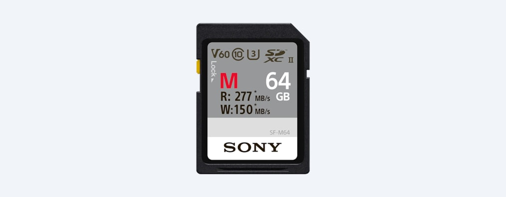 Images of SF-M Series UHS-II SD Memory Card