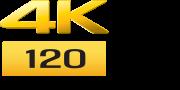 4k 120 logo