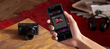 Send videos to your smartphone anywhere with Imaging Edge Mobile