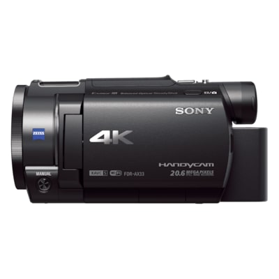 Picture of AX33 4K Handycam® with Exmor R™ CMOS sensor