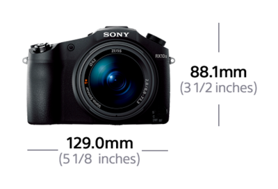 Picture of RX10 II with 24-200 mm F2.8 Lens