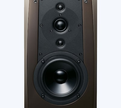 Bookshelf speakers, with 4 drivers