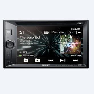 "Picture of 15.7cm (6.2"") LCD DVD Receiver"