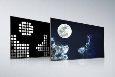 Sony Full Array LED with X-tended Dynamic Range PRO back panel and screen