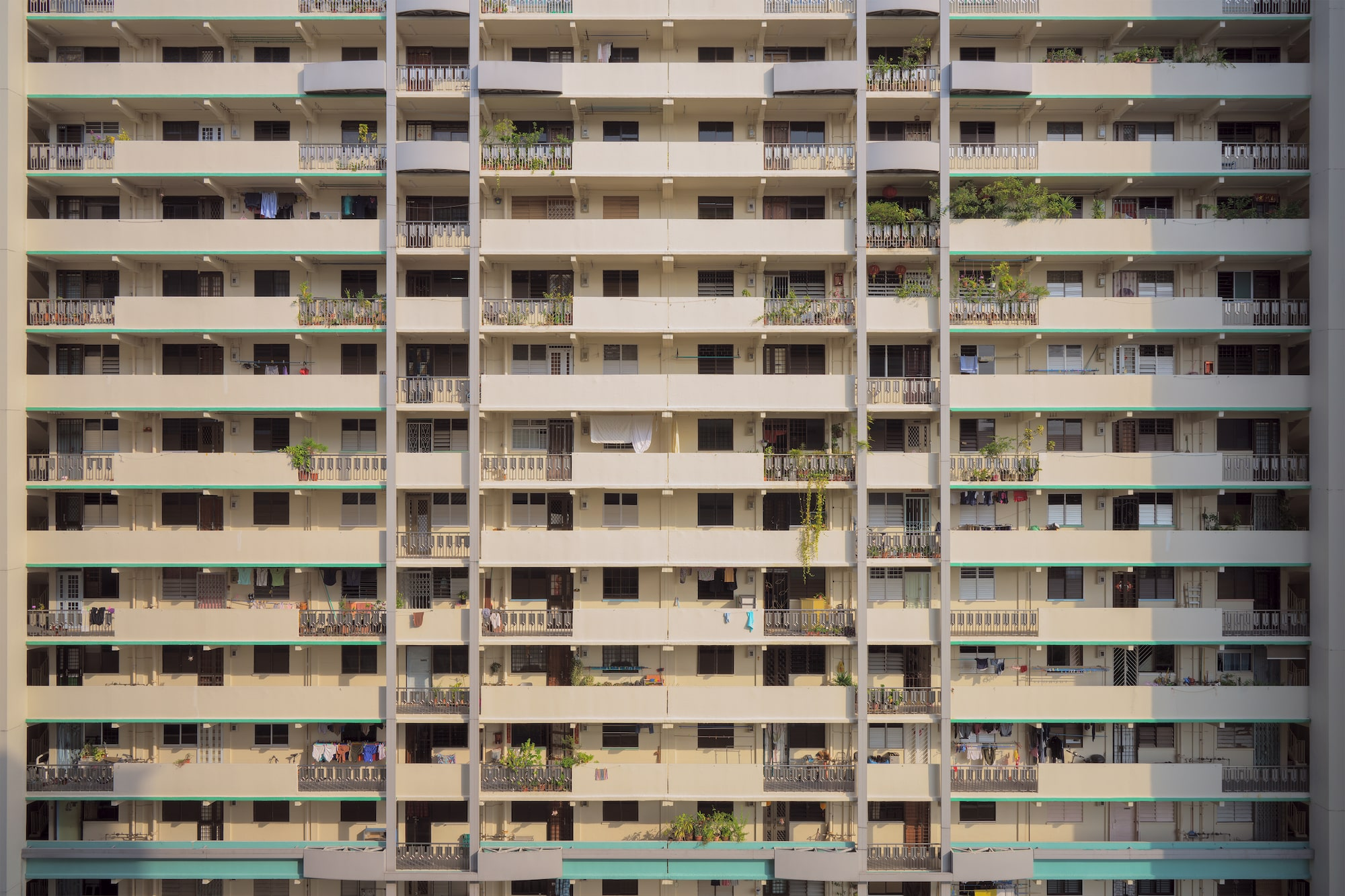Commonwealth housing block in Singapore