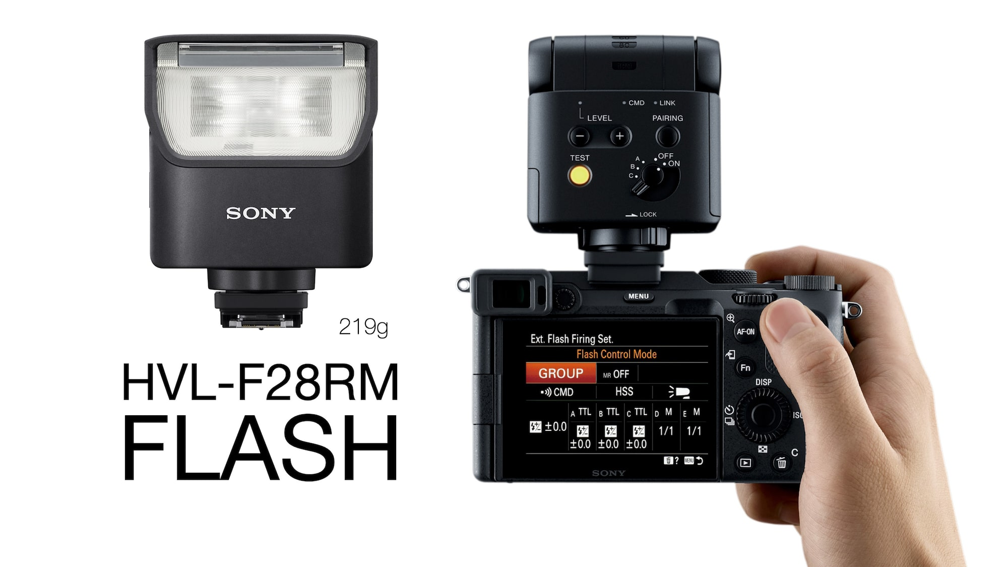 Alpha 7C and HVL-F28Rm flash