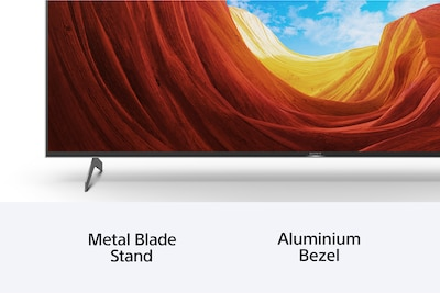 Bezel-less design. No distractions.