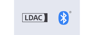 LDAC and BLUETOOTH® logos