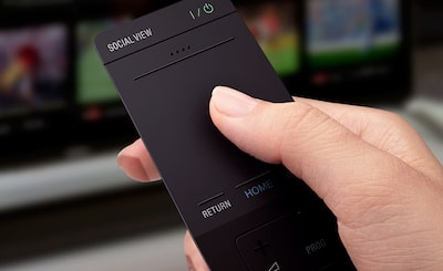 Remote control for 3D television