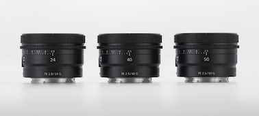 Product image showing three nearly identical-looking lenses