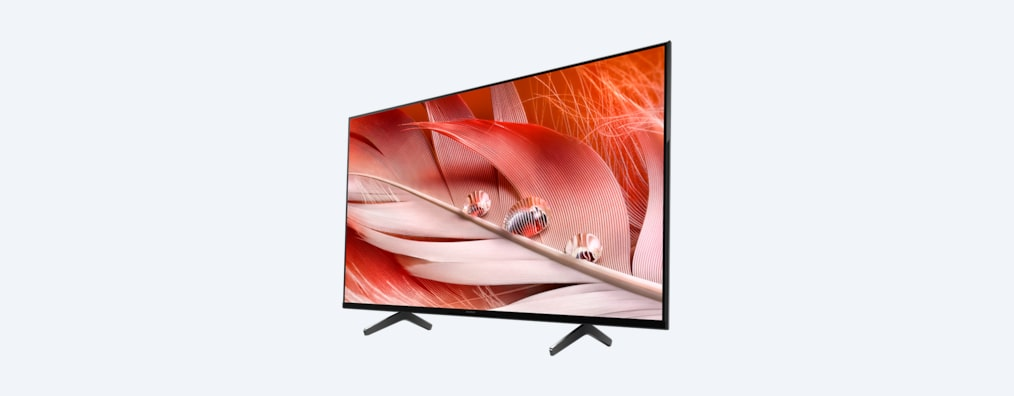 X90J BRAVIA XR TV angled shot