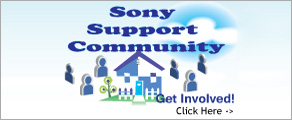Sony Support Community